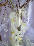 13cm Acrylic Drop Garland - Clear