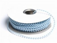 String Beads-3mm-Baby Blue-24yds