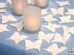 Ivory Butterfly Rose Petals