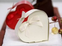 2 pc Heart Favor Box