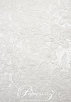 C6 Glamour Pocket Embossed Bloom White Pearl