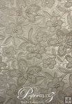 A4 Embossed Bloom- Pewter Pearl (double-sided)