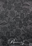 A4 Embossed Bloom - Metallic Black Pearl (double-sided)