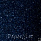 Square Flat Card - Metallic Crystal Perle Sparkling Blue