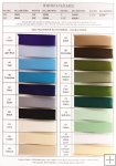 3mm Double Face Satin Ribbon- 9 assorted colours available