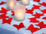Red Butterfly Rose Petals