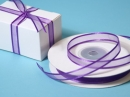 "3/8"" Organza Satin Edge Ribbon Purple"